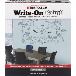 Rust-Oleum - 72110 - Rust-Oleum Write-On Paint - 1.50 lb - 1 Each - Clear