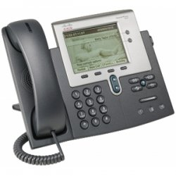 Cisco - CP-7942G-RF - Cisco 7942G Unified IP Phone - 2 x RJ-45 10/100Base-TX , 1 x - Wall-mountable