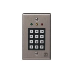 Corby Industries - 6530 - Corby Keypad - Single-Door - Indoor - Key Code - 165 User(s) - 1 Door(s) - 12 V DC