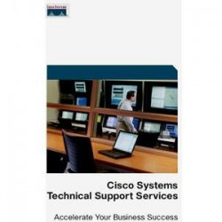 Cisco - CON-SNT-UBR-RFSW - Cisco SMARTnet - 1 Year - Service - 8 x 5 - Carry-in - Maintenance - Parts