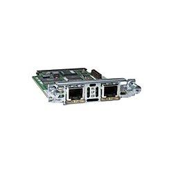 Cisco - VWIC2-1MFT-T1/E1= - Cisco-IMSourcing NEW F/S VWIC2-1MFT-T1/E1 1-Port Multiflex Trunk Interface Card - For Voice, Wide Area Network - 1 x T1/E1 WAN - 197.63 kB/s T1, 262.14 kB/s E12.05 Mbit/s