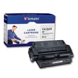 Verbatim / Smartdisk - 93874 - Verbatim High Yield Remanufactured Laser Toner Cartridge alternative for HP C4182X - Black - Laser - 20000 Page - 1 / Each - Retail