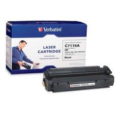Verbatim / Smartdisk - 94466 - Verbatim Remanufactured Laser Toner Cartridge alternative for HP C7115A - Black - Laser - 2500 Page - 1 / Each