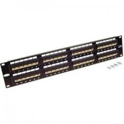 Belkin / Linksys - F4P338-48-AB5 - Belkin - Patch Panel - Black - 48 Ports - Eia/tia-568 Category 5e