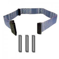 Belkin - F2N1114-32INCH - Belkin SCSI-2 LVD Ribbon Cable - Male - Male - 2.66ft - Blue