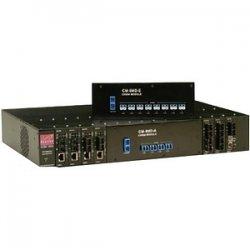 Canary Communications - CCM-1241-SM - Canary CCM-1241-SM UTP to Fiber Media Converter - 1 x RJ-45 , 1 x SC Duplex - 100Base-TX, 100Base-FX
