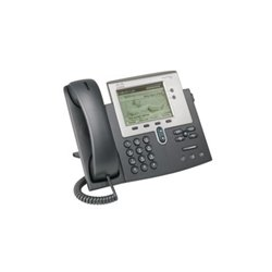 Cisco - CP-7942G= - Cisco 7942G Unified IP Phone - 2 x RJ-45 10/100Base-TX , 1 x