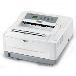 Okidata - 62427304 - Oki B4600N LED Printer - Monochrome - 27 ppm Mono - USB - Fast Ethernet - PC, Mac