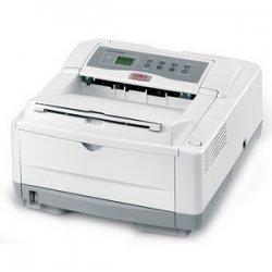 Okidata - 62427304 - Oki B4600N LED Printer - Monochrome - 27 ppm Mono - USB - Fast Ethernet - PC, Mac