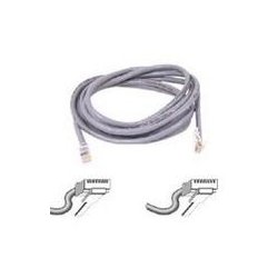 Belkin / Linksys - A3L791-15 - Belkin - Patch cable - RJ-45 (M) to RJ-45 (M) - 15 ft - UTP - CAT 5e - gray - B2B - for Omniview SMB 1x16, SMB 1x8, OmniView IP 5000HQ, OmniView SMB CAT5 KVM Switch