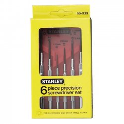 Stanley / Black & Decker - 66-039 - Steel Jewelers Screwdriver Set&#x3b; Number of Pieces: 6