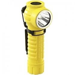 Streamlight - 88831 - Streamlight PolyTac 90 LED Compact Right-Angle Light - CR123A - NylonBody, GlassLens - Yellow