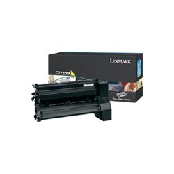 Lexmark - C7722YX - Lexmark Yellow Extra High Yield Toner Cartridge - Laser - Yellow
