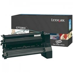 Lexmark - C7722KX - Lexmark Black Extra High Yield Toner Cartridge - Laser - Black