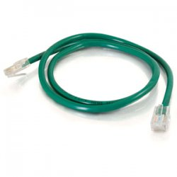 C2G (Cables To Go) - 24500 - C2G-5ft Cat5e Non-Booted Crossover Unshielded (UTP) Network Patch Cable - Green - Category 5e for Network Device - RJ-45 Male - RJ-45 Male - Crossover - 5ft - Green