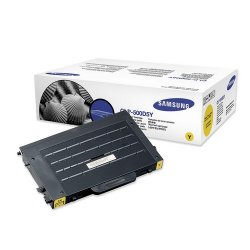 Samsung - CLP-500D5Y - Samsung CLP-500D5Y Original Toner Cartridge - Laser - 5000 Pages - Yellow - 1 Each