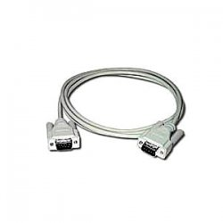 C2G (Cables To Go) - 02697 - C2G 6ft DB9 M/M Cable - Beige - DB-9 Male Serial - DB-9 Male Serial - 6ft