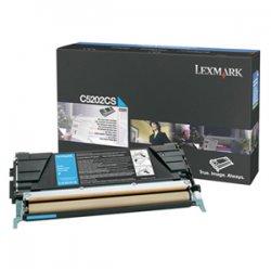Lexmark - C5202CS - Lexmark Cyan Toner Cartridge - Laser - 1500 Page - Cyan