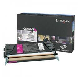 Lexmark - C5202MS - Lexmark Magenta Toner Cartridge - Laser - 1500 Page - Magenta