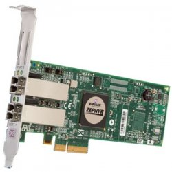 Emulex - LPE11002-M4 - Emulex LightPulse LPe11002 Multi-mode PCI Express Host Bus Adapter - 2 x LC - PCI Express - 4.25Gbps