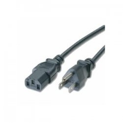 C2G (Cables To Go) - 14719 - C2G 25ft 18 AWG Universal Power Cord (NEMA 5-15P to IEC320C13) - 25ft