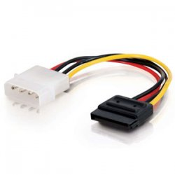 C2G (Cables To Go) - 10151 - C2G 6in Serial ATA Power Adapter Cable - 6""
