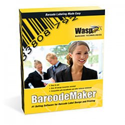 Wasp Barcode - 633808105167 - Wasp BarCode Maker - Complete Product - 1 PC - OCR Utility - Standard - Retail - PC