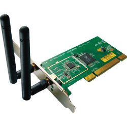 Allied Telesis - AT-WNP300N/NA-001 - Allied Telesis AT-WNP300N IEEE 802.11n - Wi-Fi Adapter - PCI - 300 Mbit/s - 2.40 GHz ISM