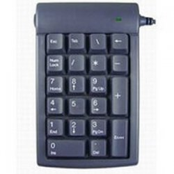 Genovation - 630 - Genovation Micro Pad Numeric Keypad - USB - 21 Keys - Gray