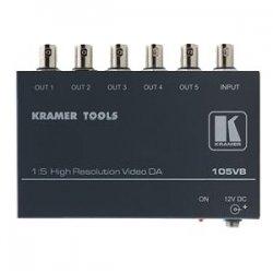 Kramer Electronics - 105VB - Kramer 105VB Video Splitter - 1 x 5