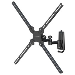 Elexa - DC37DJ - Level Mount DC37DJ TV Wall Mount - Aluminium Alloy - 100 lb - Black