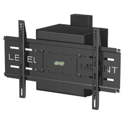Elexa - LM42SM - Level Mount Wall Mount for Flat Panel Display - 10 to 42 Screen Support - 100 lb Load Capacity - Black