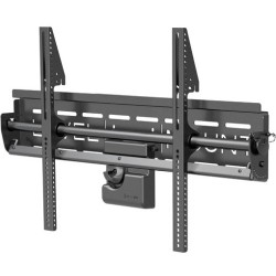 Elexa - LM65PWT - Level Mount LM65PWT Wall Mount for TV - 85 Screen Support - 170 lb Load Capacity - Matte Black