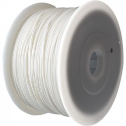 FlashForge - 3D-FFG-ABSWH - Flashforge 1.75mm ABS Filament Cartridge - White - White