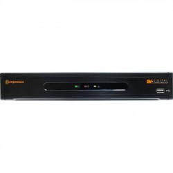 Digital Watchdog - DW-CPUHD16 - Digital Watchdog 16-Channel Universal HD Analog to IP Signal Encoder - Network Encoder - 480 Fps - Composite Video In