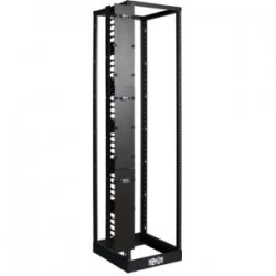 Tripp Lite - SRCABLEVRT6 - Tripp Lite Open Frame Rack 6ft Vertical Cable Manager 6in Wide - Cable Manager - Black