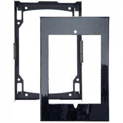Premier Mounts - IPM-730W - Secure iPad Mounting Frame with Access to Home Button and Camera