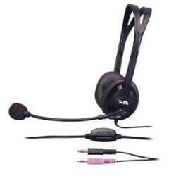 Cyber Acoustics - AC-400MV - Cyber Acoustics AC-400MV Speech Recognition Headset - Over-the-head