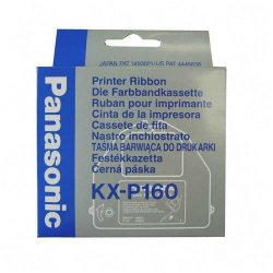 Panasonic - KX-P160 - Panasonic Ribbon Cartridge - Dot Matrix - 3000000 Characters - Black - 1 Each