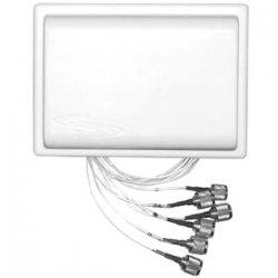 Ventev - M6025040MO1D2402M - TerraWave M6025040MO1D2402M 802.11n Omni-directional Antenna - 2.5 dBi, 4 dBi - 6 x RP-TNC