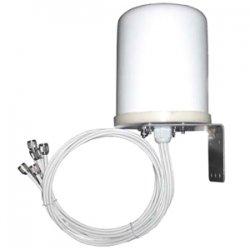 Ventev - M6060060MO13602O - TerraWave M6060060MO13602O 802.11n Omni-directional Antenna - 6 dBi - 6 x RP-TNC