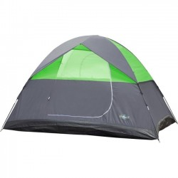 Stansport - 728-10 - Stansport Pine Creek 3-Person Dome Tent - 3 Person(s) CapacityLight Gray, Green, Black - Steel