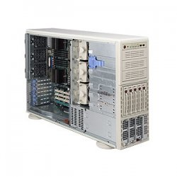 Supermicro - AS-4041M-T2RB - Supermicro A+ Server 4041M-T2RB Barebone System - nVIDIA MCP55 Pro - Socket F (1207) - Opteron (Quad-core), Opteron (Dual-core) - 1000MHz Bus Speed - 64GB Memory Support - Gigabit Ethernet - 4U Tower