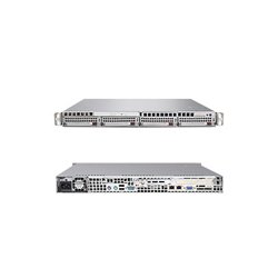 Supermicro - AS-1021M-T2+V - Supermicro A+ Server 1021M-T2V Barebone System - nVIDIA nForce MCP55 Pro - Socket F (1207) - Opteron (Quad-core), Opteron (Dual-core) - 1000MHz Bus Speed - 32GB Memory Support - DVD-Reader (DVD-ROM) - Gigabit Ethernet - 1U