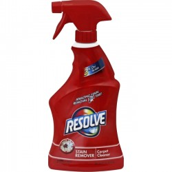 Reckitt Benckiser - 00601 - Resolve Resolve Stain Remover Cleaner - Spray - 0.17 gal (22 fl oz) - Fresh Scent - 1 Each - Light Yellow
