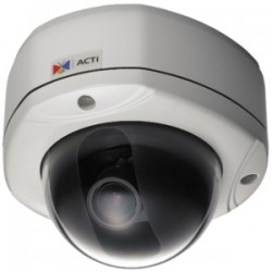 ACTi - ACM7511 - ACTi ACM-7511 Network Camera - Color, Monochrome - 3.2x Optical - CCD - Cable