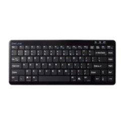 SMK-Link - VP6630 - SMK-Link VP6630 Keyboard - Wireless - Bluetooth - 86 Key - Computer, Tablet - Play/Pause, Next Track, Previous Track, Volume Up, Volume Down, Mute Hot Key(s) - QWERTY - Rubber Dome