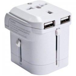 I/O Magic - I016W01RU2B - I/OMagic Power Plug - USB, AC Power - 110 V AC / 8 A, 220 V AC