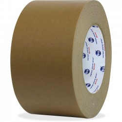 "Intertape Polymer - 84464 - ipg Medium Grade Flatback Tape - 3"" Width x 60 yd Length - Synthetic Rubber Backing - 16 / Carton - Brown"