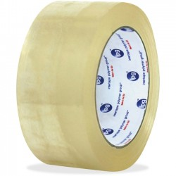 Intertape Polymer - F409005 - ipg Hot Melt Carton Sealing Tape - 2 Width x 1000 yd Length - Polypropylene Film - Rubber Resin Backing - Pressure Sensitive - 6 / Carton - Clear